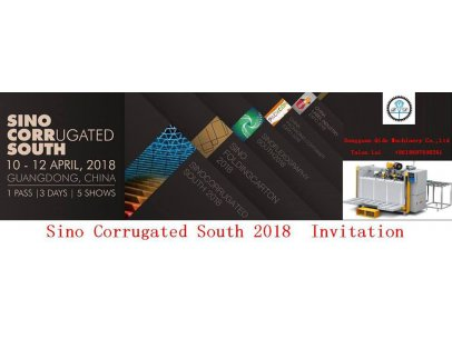 Sino Corrugated South 2018